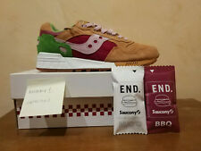 Saucony Shadow 5000 Burger x endclothing 8.5US DS