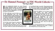 Hummel kaart met zegel Cambodge 1993 MNH - De Pop in Bed (046)