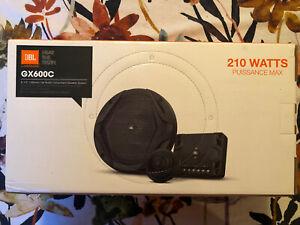 """JBL GX600C (210W Max) 6.5"""" 2-Way Car Component Speaker System w/ Tweeters NEW!"""