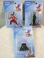 Disney Villian Ursala, Captian Hook, Maleficent Figurines/Cake Toppers Lot of 3