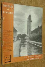 Nouvelles de l'Eure n°6 (octobre 1960): La Vie & l'art en Normandie