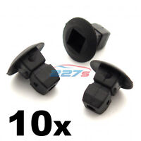 10x Plastic Grommets, Lock nuts, Expanding Nuts- Audi Bumper, Trim, Shields etc
