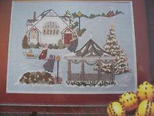 Solon Christmas Winter Scene by Thimb-Elena Magazine Cross Stitch Pattern