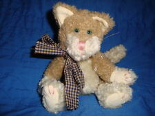 Boyds Cat Jointed  Plush & Beans J.B Beans Series 8""