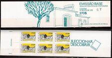 28T3 PORTUGAL Carnet de 6 timbres neufs: Architecture populaire portugaise