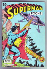 ! SUPERMAN POCHE N°40 en BON ETAT / TRES BON ETAT !