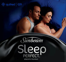 Sunbeam BL5451 Sleep Perfect™ Quilted Electric Blanket - Queen Bed - RRP $219.00