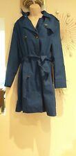 Women's Gap  Blue Trench Coat / Mac Size L