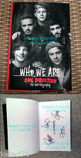*BROKEN UP* One Direction FULL BAND SIGNED Who We Are Book PROOF Made Styles AM
