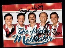 Die fidelen Mölltaler Autogrammkarte Original Signiert ## BC 63975
