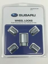 2009-2020 Subaru Alloy Wheel Lock Lug Nuts Set OEM B321SFL000 Genuine All Models