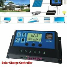 MPPT 30-100A Solar Panel Regulator Charge Controller Auto Focus Tracking 12V/24V