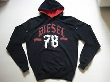 DIESEL MENS PRINTED HOODED SWEATSHIRT DESIGNER TOP, SIZE M, BNWT