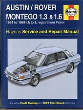 Austin / Rover Montego 1.3 & 1.6 1984 to 1994  Haynes Service & Repair Manual