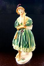 Ens Porzellan-Antiquitäten & Kunst mit Frauen-Motiv