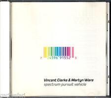 Vincent Clarke Martyn Ware Spectrum Pursuit Vehicle CD Erasure Ambient 2001