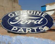 Ford Genuine Parts Vintage Style Porcelain Door Sign