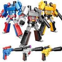 Bumble Bee Optimus Prime Megatron Rare Transformers Pistol Robots Action Figure