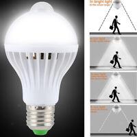LED Lampe Bulb Détecteur de Mouvement Radar Infrarouge 5W E27