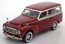 1956 Volvo PV445 Duett Dark Re by BoS Models Limited Edition of 1000 1/18 Scale