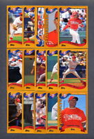 2002 Topps PHILADELPHIA PHILLIES Team Set (24) Cards