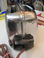 Vtg Toastmaster Art Deco Chrome 2 Slice Automatic PopUp Toaster Untested DECOR