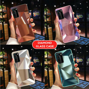 For Huawei P40 P30 Lite Pro P Smart 2020 Shockproof Hybrid 3D Diamond Case Cover