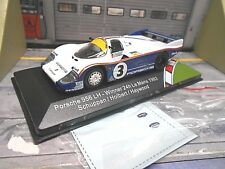 Porsche 956c 956 c le mans 1983 winner #3 holbert Haywood sch Rothman Ixo 1:43