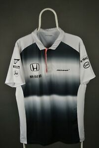 Men's McLaren Honda Official Polo T-Shirt Formula One F1 Size L