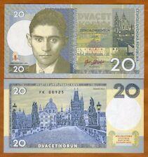 Czechoslovakia, 20 Korun, 2019 Private issue > Franz Kafka