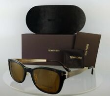 0f34128425 Brand New Authentic Tom Ford Eyeglasses FT TF 5474 32E 53mm Gold Frame W   Clipon