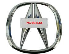 For MDX RLX RL TLX Front Grill Emblem Logo Sedan Badge 75700-SJA-A11