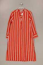 ZARA WOMAN -Kleid mit Schlitz L kupferbraun Damen Dress Robe