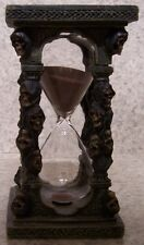 Hourglass Sand Timer Halloween Skulls NEW 5 minute boiled egg