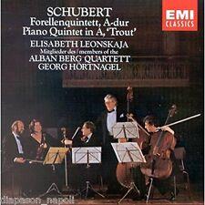 Schubert: Piano Quintet Trota / Alban Berg Quartett, Elisabeth Leonskaja CD Emi