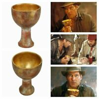 Raiders of the Lost Ark Indiana Jones Holy Grail Cosplay Show Costume Props