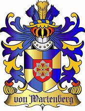 Adelstitel = GRAF / GRÄFIN von WARTENBERG =  Freiherr Baron Fürst Freiherr