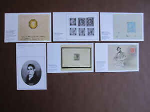 GB - National Postal Museum RM Phillips Collection - set of 6 unused postcards