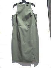 NWT Banana Republic Sleeveless Sheath Dress Flight Jacket Color Sz 16