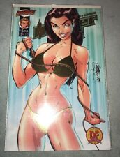 RARE DANGER GIRL #5 EXCLUSIVE GOLD FOIL EDITION WITH COA FROM DF!!