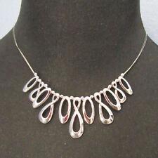 Lia Sophia Jewelry Interiope Necklace in Silver RV$42