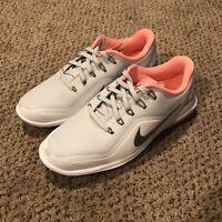 Nike Women's Lunar Control Vapor 2 Golf Shoes White Pink 909083-002 Size 6.5