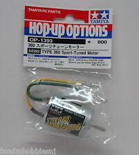 New Tamiya Type 380 Sport Tuned Motor Hop Up Option OP-1393 Part 54393