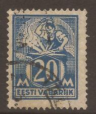 Used Single Estonian Stamps