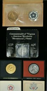 Bicentennial Medal Lot, Virginia Silver Medal 99c NO RESERVE  Witter Coin
