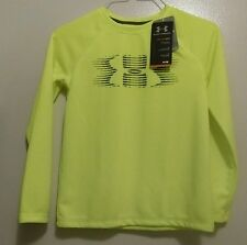 BOYS YOUTH UNDER ARMOUR LOOSE THERMAL LONG SLEEVE SHIRT YOUTH SIZE SMALL 4176