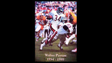 Walter Payton SWEETNESS 1954-1999 Chicago Bears NFL Classic POSTER