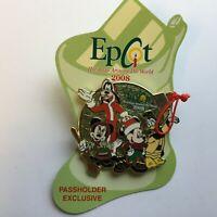WDW Passholder Exclusive Epcot Holidays Around The World 2008 Disney Pin 66319
