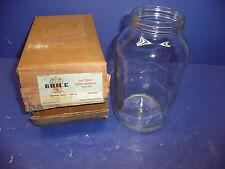 NOS OEM GM 1940-48 Chevrolet Buick Windshield Washer Glass Jar 604088