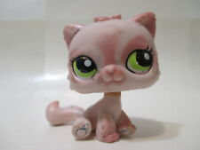 Littlest Pet Shop Pink Persian Cat 1083 Kitty Authentic Blemished As Shown